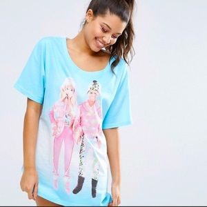 ASOS Barbie T-Shirt Size Small